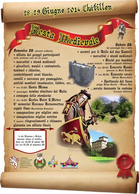 PALIO DEI DUE CASTELLI CHATILLON (AO)